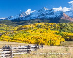 fall photo of Wilson Peak Colorado
